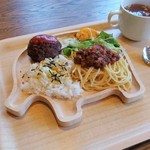 Green cafe ACB - キッズプレート