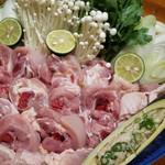 播州赤鶏の水炊き