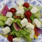飛騨高山産 生モッツアレラチーズのサラダ