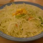 松屋 - サラダ、コーンケチってね?