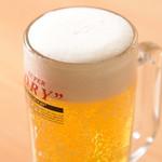 日本橋うどん酒場ほし野 - 生ビール