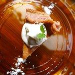カフェ ケシパール - 料理写真:日替りチーズケーキ 450円(ラズベリーのベイクド)