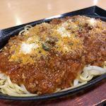 食彩処 百花 - 料理写真:鉄板ミートスパ