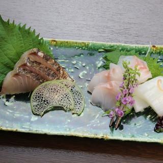 舞鶴より直送。思わず頬が緩むこだわりの「海鮮料理」を堪能。