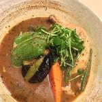 スープカレー専門店 ごうや - やわらかチキン野菜1180円