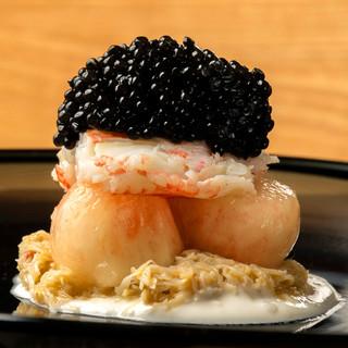 和とイタリアンの饗宴で魅せる、豪快ながらも繊細なひと皿