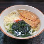 麺屋 一心 - 料理写真:きつねうどん(500円)