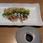 白木屋 - イワシ刺と紛らわしい皿