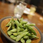 晩酌屋 さんすけ - 黒豆の枝豆