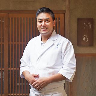 西川正芳氏(ニシカワマサヨシ)─京都に育まれた感性が生む一品