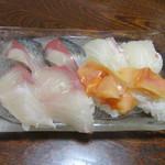 大和田鮨 - 「地魚にぎり」①