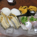 大和田鮨 - 「地魚握り」②