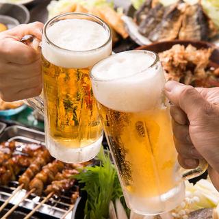 《ご宴会》名物料理を凝縮◎飲み放題付きコース◆2,500円~