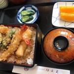 割烹食堂 伊豆菊 - 天丼1080円