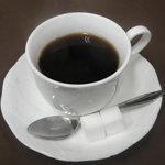 センリ軒 - セットのコーヒー