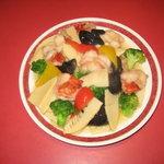 中国名菜青葉 - 料理写真:大海老と野菜の塩炒め