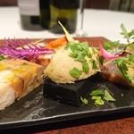 casa del cibo - 料理写真:「お任せコースより」 八戸魚介類の前菜盛り合わせ