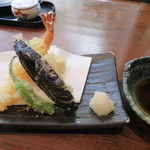 山せみ - 楽膳から「天ぷら」