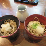 山せみ - 蕎麦2種