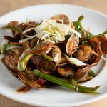鴻元食坊 - アサリの辛味炒め