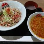 つけ蕎麦 えび福 - 辛海老つけ蕎麦(702円)