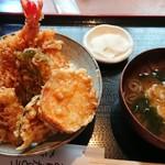 高半 - 天丼(小)    750円