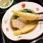 季節料理池宮 - たけのこ熱々で旨い❤︎ 角煮もとろっとろ❤︎
