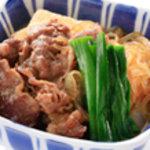 豊科食堂 - 料理写真:牛すき煮 ¥262