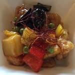 ぼっけもん - 鶏と野菜の黒酢炒め