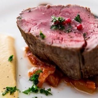 豪州産の牛フィレ肉のビステッカ!肉の値段に自信あり!!