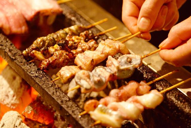 新宿うな鐵 恵比寿店 串焼き