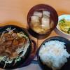 羊料理しま - 料理写真:火水木曜限定のジンギスカン定食920円全景