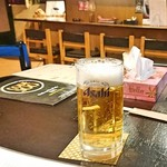 BONZO - CODE500 石焼き卵かけ鶏御飯+サラダ+小鉢 1,000円 の ビール 2019/01