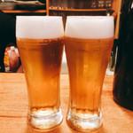 一品料理 ひとしな - 生ビール