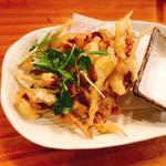 一品料理 ひとしな - ほたるいか天ぷら