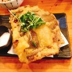 一品料理 ひとしな - カレイ天ぷら