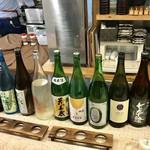 106289963 - 日本酒飲み比べ♪