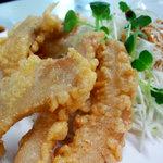 食道楽 - 豚トロの天ぷら(680円)