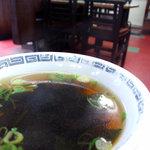 食道楽 - 炒飯に付いてたスープ