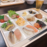 ホテル湯元 - 料理写真:夕方バイキング♫