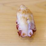 銀座 鮨 み富 - 蛸