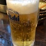 戸張屋 - 生ビール