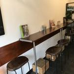 パニーノ専門店 ポルトパニーノ - カフェって言うより、イートインスペースレベルなんですが、これが正解なんですね!(2019.4.23)