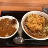 いろり庵きらく - 料理写真:ミニカレー丼&かき揚げそば