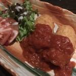 海老の髭 - 紅ずわい蟹のクリームコロッケ