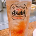 八昌 - カープ梅酒 ソーダ割 480円