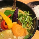 Rojiura Curry SAMURAI.  - チキンがいない(笑)