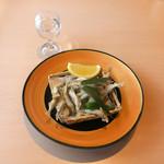 山梨ほうとう 浅間茶屋 - ワカサギの天ぷら