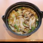 山梨ほうとう 浅間茶屋 - キノコのほうとう