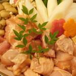 106296797 - 朝〆匠の大山鶏のすき焼き(VIPコース)